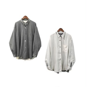 COMME des GARCONS HOMME - Reversible Shirt ¥18000+tax
