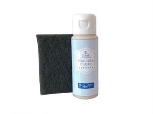 水垢落としクリーナー ミズアカクリア 50ml+ミニパッド お試しセット 研磨剤入り洗剤