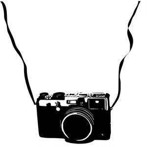 アンティークカメラ カメラ:H100×W150mm ストラップ:長さ約300mm