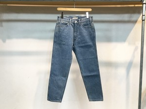 "LIVING CONCEPT""5POCKET TAPERED DENIM PANTS ICE WASH"""