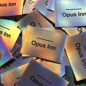 【ステッカー】''Opus Inn'' Hologram Sticker