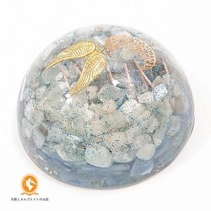 [受注制作]月の神秘 大天使ハニエルのオルゴナイト ムーンストーン カイヤナイト do1001ahmookya00013