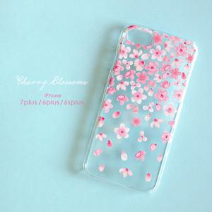 iPhone スマホケース 【Cherry Blossoms】 iPhone8plus/7plus/6plus/6splus