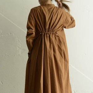 SIAWLY Back Gather Long Shirt  再入荷