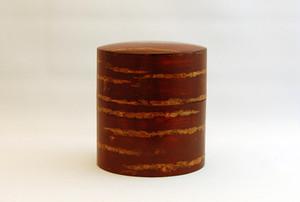 桜皮茶筒:色出し中平