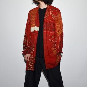 "Crazy Pattern ""NIPPON COTTON"" Shirt Coat 〈L〉"