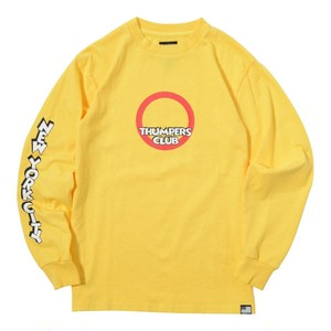 THUMPERS CLUB L/S TEE (YELLOW) [TH-17AW-005]
