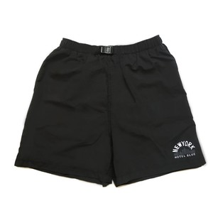 HOTEL BLUE SKYSCRAPER SHORTS ROYAL BLACK