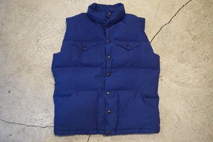 USED 80s THE NORTH FACE Down Vest -Medium 0818