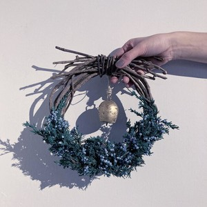 Christmas wreath~bell~ small