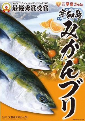 【冷蔵】みかんブリカマ付きフィーレ1尾分(愛媛県産養殖)