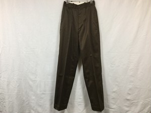 "LENO "" WIDE CHINO TROUSERS "" BROWN"