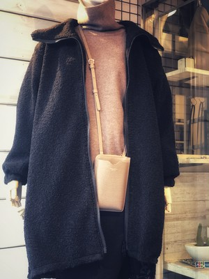 ◆上質なボアがすっぽり包み込んでくれる!あたたかさバツグンのロングコート◆