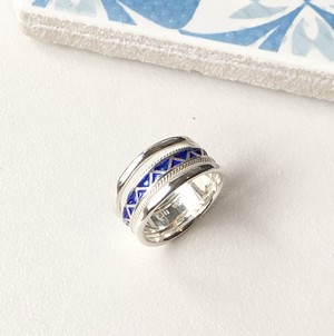 Moroccan breeze_Ring/Ultra Marine Blue