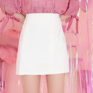 ホワイトショートパンツ(スカート) 【ゆりにゃ select】