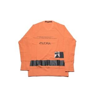 617CPM8-ORANGE / APCLPS クルーネックTシャツ