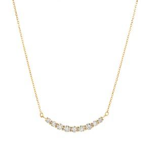 K18YGダイヤモンドネックレス 020201009196