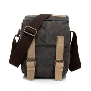 Waterproof Canvas Shoulder Bag Small Bag Vintage Messenger Bag ショルダーバッグ メッセンジャーバッグ ビンテージ 防水 (YYB0-3706220)