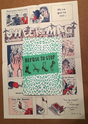 "REFUSE TO STOP  ""Sheer Mag Fanzine"""