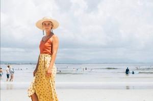 Leona Coral Skirt