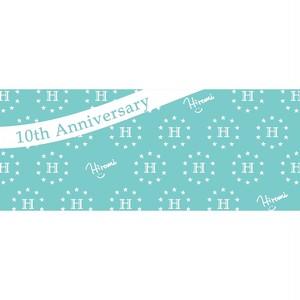 10周年記念 タオル