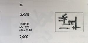 梅谷聡子「光る雪」カタログ25