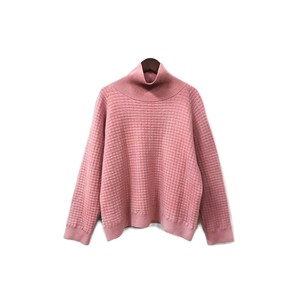 URU - Mock neck Wool Knit (size - 2) ¥14000+tax
