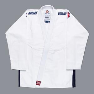 【予約注文受付中】SCRAMBLE ATHLETE 4:375(ホワイト、白)|ブラジリアン柔術衣