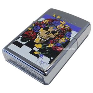 スタンリー・マウス「タイムレス」 / Zippo Stanley Mouse 'Timeless' High Polish Chrome