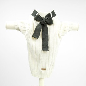 max-bone(マックスボーン) Vivienne Jumper Grey Ribbon