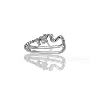 Silver / ピアス (片耳) / EVERYDAY SHOES-Sneaker