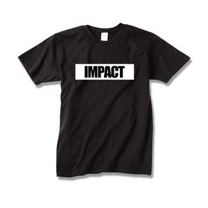 【送料無料】Tシャツ IMPACT / black-white