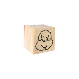 スタンプ「香箱座り・いぬ」