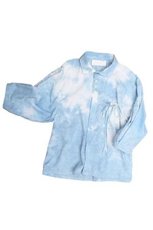 青空リボンシャツ