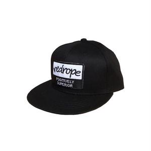 【WOB SNAPBACK CAP】black