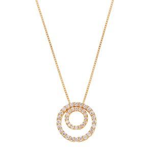 K18YGダイヤモンドネックレス 020201009521