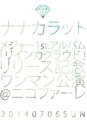 【DVD】「リインカクラウド」リリース記念ワンマン公演@ニコファーレ【ステッカー付】