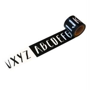 アルファベット(45mm×5m巻)YJV-16 デザイン養生テープ