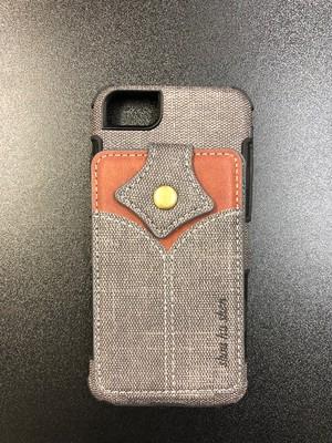 iPhone7/8 ケース グレー・ベージュ・ブラウン