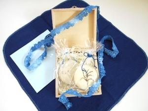 藍の石鹸シリーズ ♡ ギフトラッピングサービス