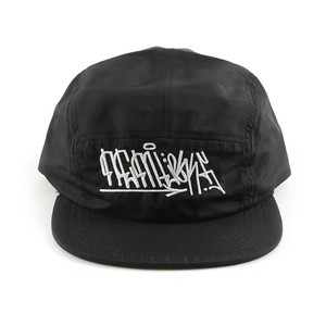 Nemlesss × Crod / Nylon Jet Cap / Tag / Logo / Black (With Sticker)