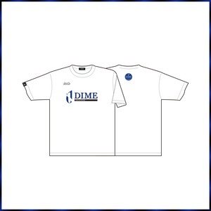 HACHINOHE DIME「セカンダリーロゴ」 Tシャツ WHITE