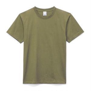 クルーネック Tシャツ(半袖) カーキ