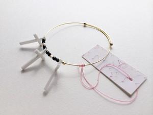 【旧作セール¥300均一】Cross Bracelet