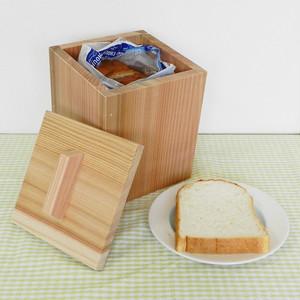 吉野杉の食パンストッカー(湿気防止ボックス)