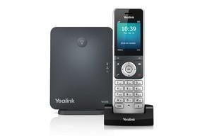 【日本国内正規代理店製品】 W60P Yealink デジタルコードレス IP電話機 SIP電話機 DECT Phone