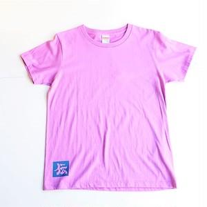 オーナー様用 伝七プリントTシャツ ラベンダー バックプリント