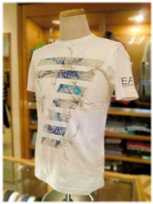 【EMPORIO ARMANI】    エンポリオアルマーニ EA7 - Italy -  クルーネック 半袖Tシャツ