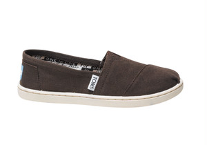 Canvas Youth TOMS Classics  ( Chocolate   ) トムス キッズ