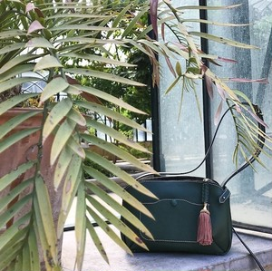 Calla Leather Shoulder bag / Verde